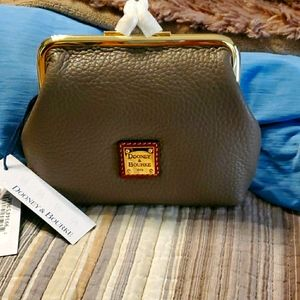 NWT DOONEY & BOURKE large frame coin purse
